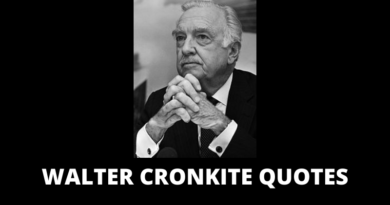 Walter Cronkite quotes featured