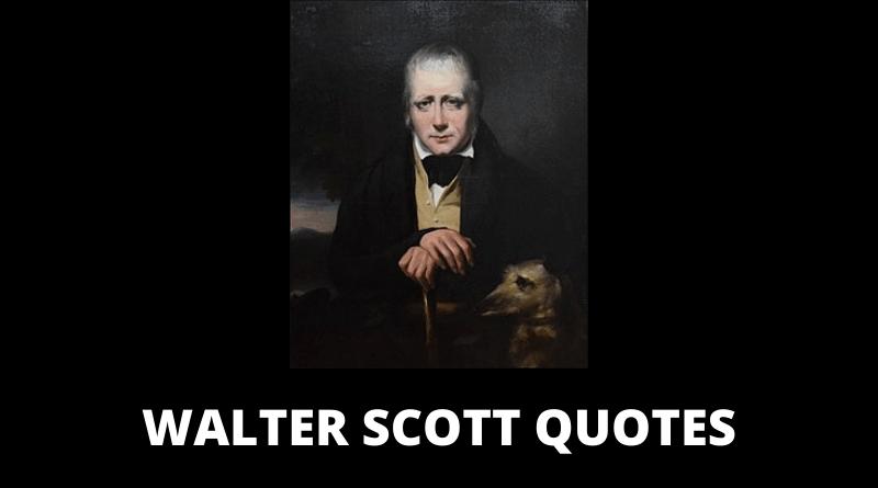 Walter Scott quotes featured