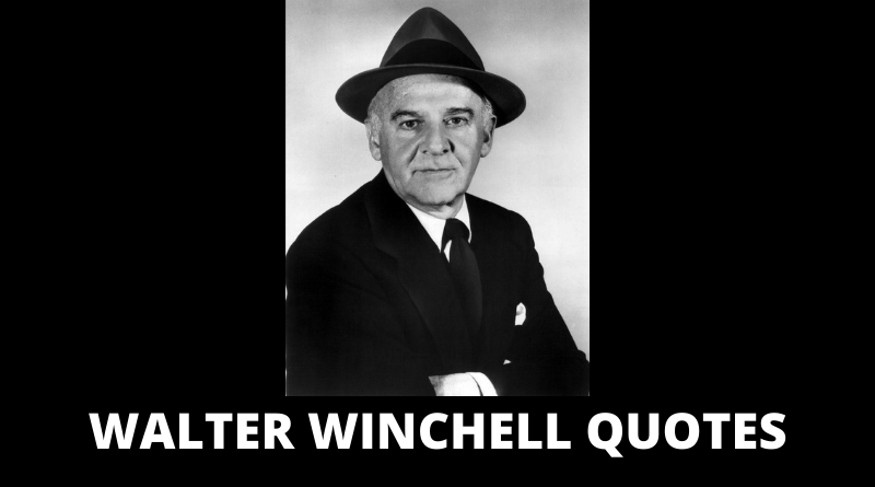 Walter Winchell quotes featured