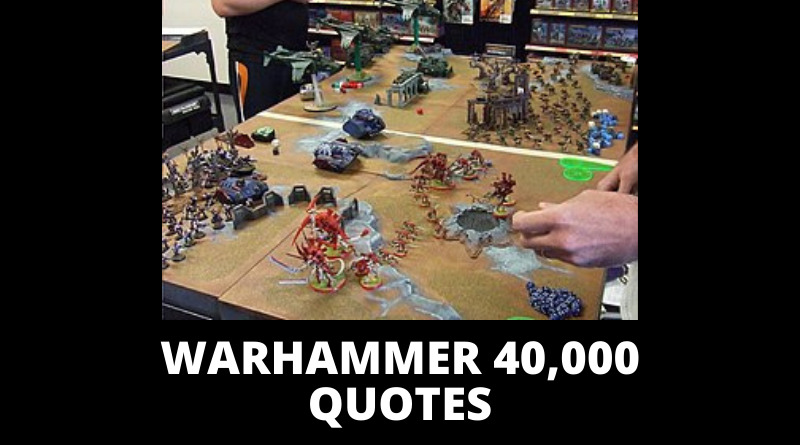 Warhammer 40k Quotes featured