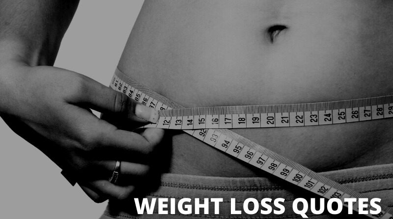 Weight Loss Quotes featured