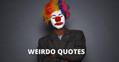 Weirdo Quotes featured