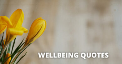 Well being Quotes featured