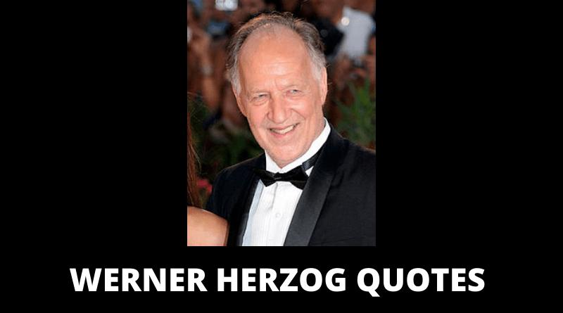 Werner Herzog quotes featured