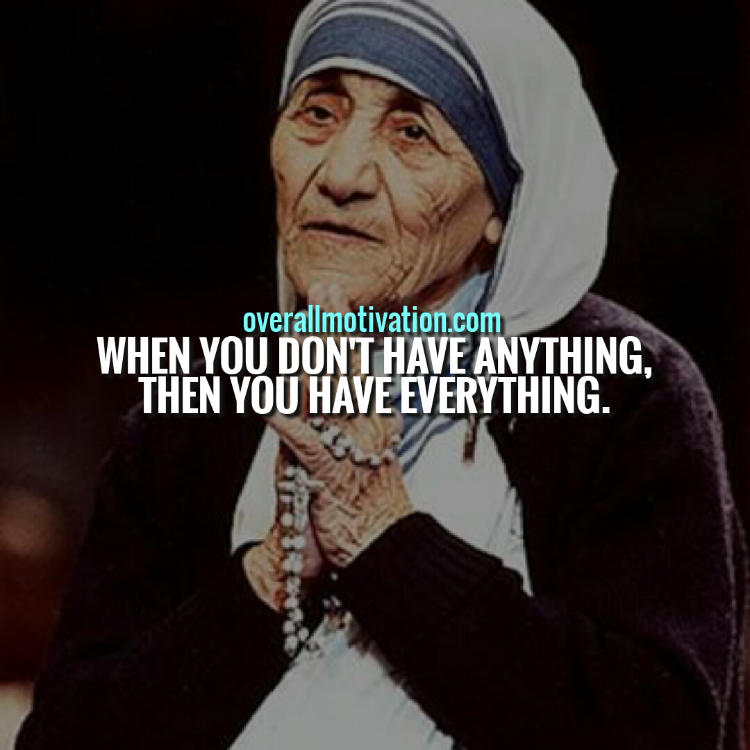 Mother Teresa Quotes On Humanity, Peace & Love ...