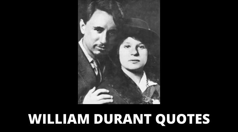 Will Durant quotes featured