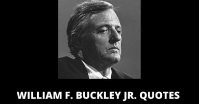 William F Buckley quotes featured