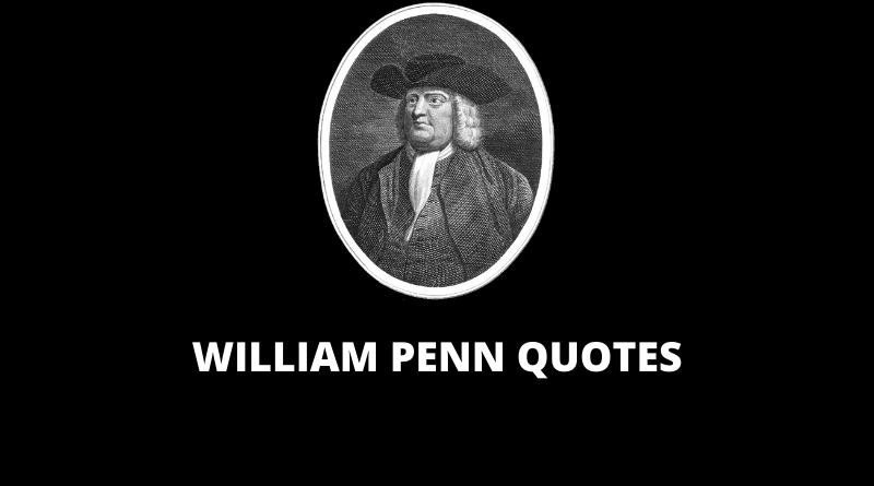 William Penn Quotes featured