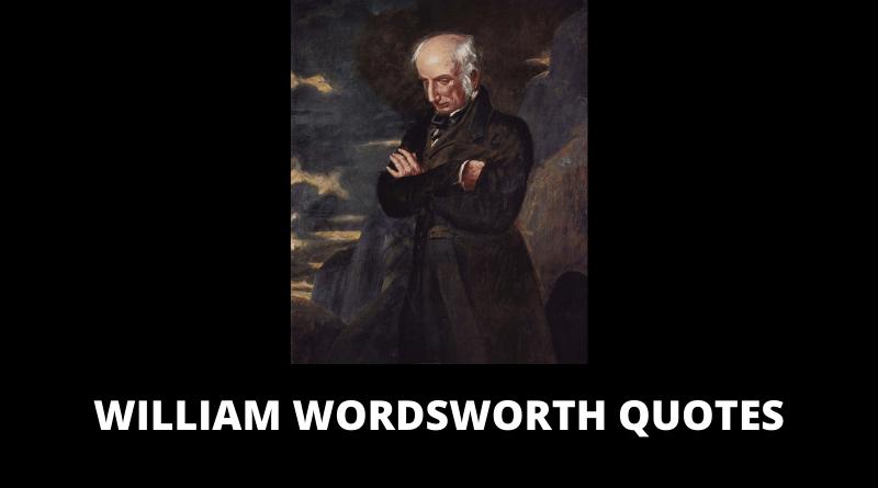 William Wordsworth Quotes featured