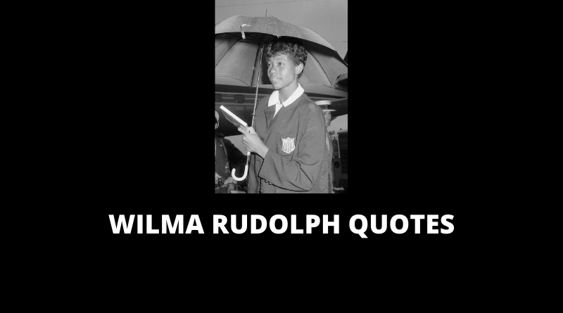 Wilma Rudolph Quotes featured