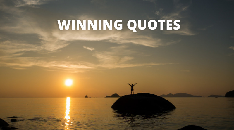 Winning quotes featured
