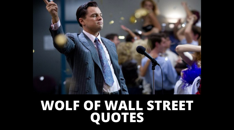Wolf Of Wall Street Quotes featured