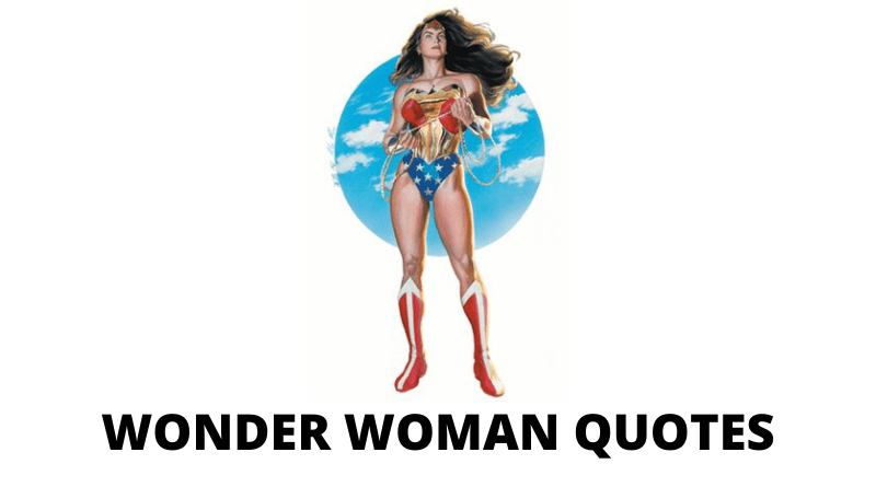 Wonder Woman Quotes featured
