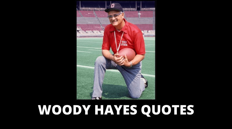 Woody Hayes quotes featured