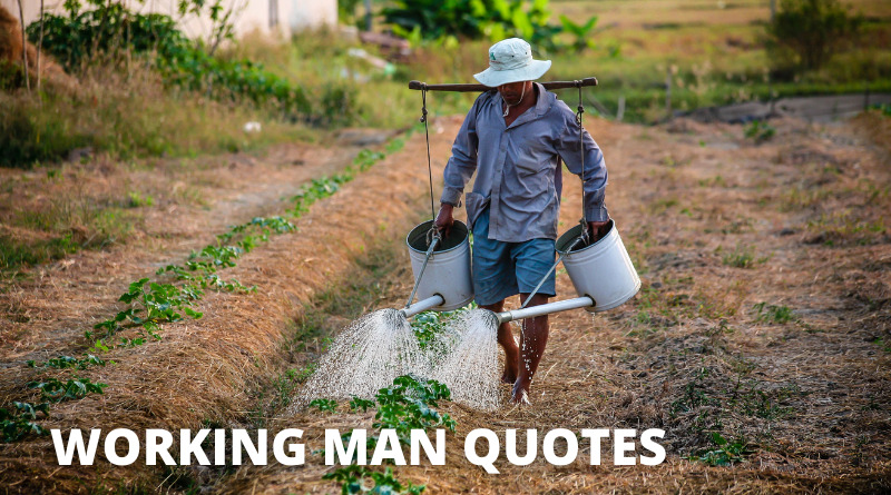 Working Man Quotes Featured