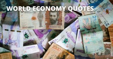 World Economy Quotes Featured
