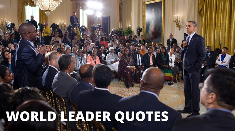 World Leaders Quotes Featured
