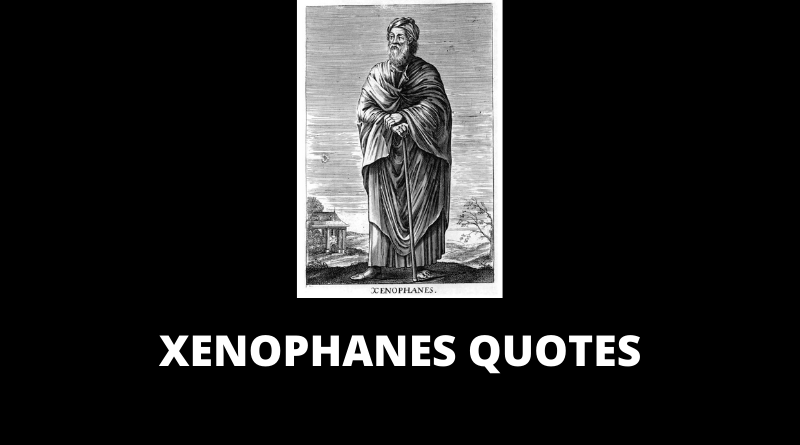 Xenophanes Quotes featured