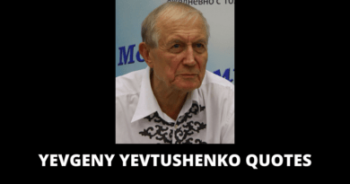 Yevgeny Yevtushenko Quotes featured