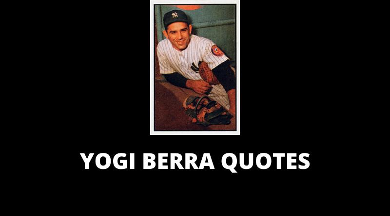 Yogi Berra Quotes featured