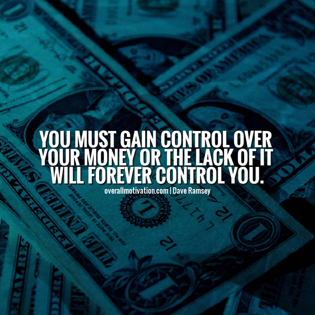 You must gain control