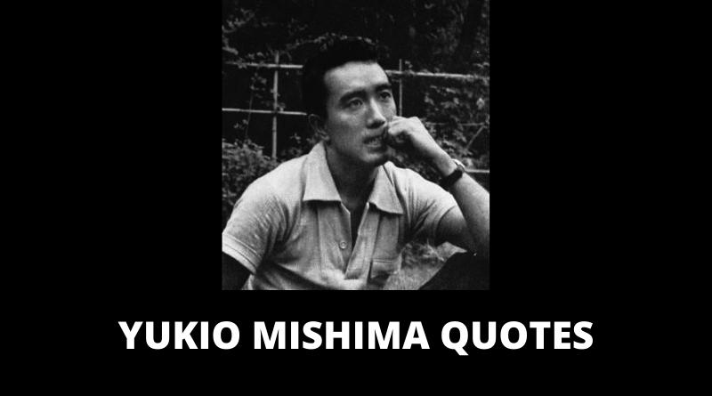 Yukio Mishima Quotes featured