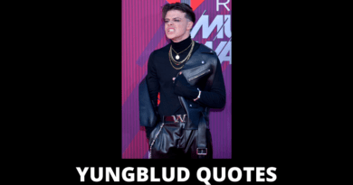 Yungblud quotes features