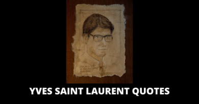Yves Saint Laurent Quotes featured