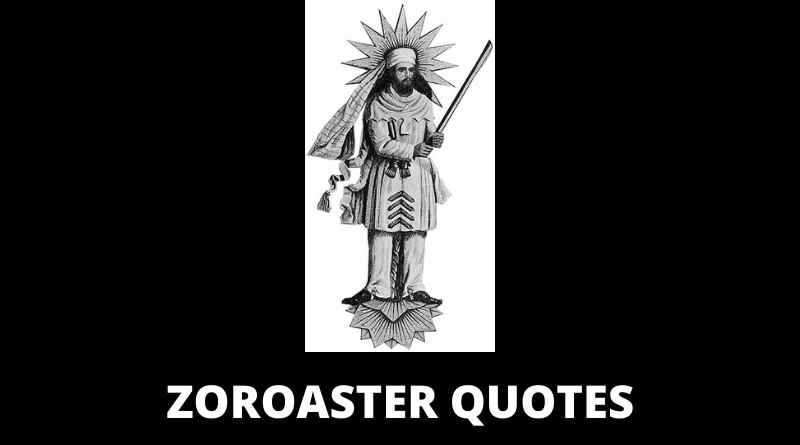 ZOROASTER QUOTES FEATURED