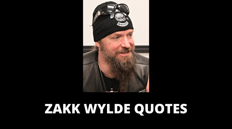 Zakk Wylde Quotes featured