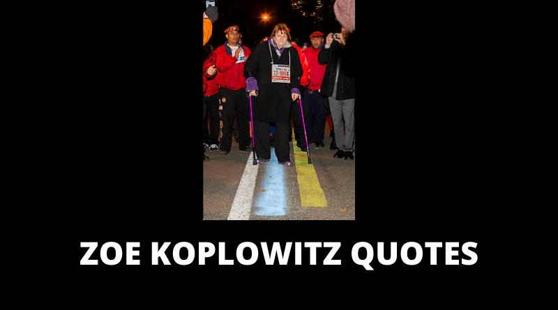 Zoe Koplowitz Quotes featured
