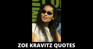 Zoe Kravitz Quotes featured