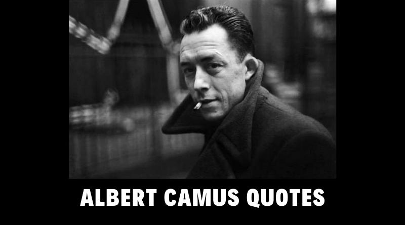 Motivational Albert Camus Quotes