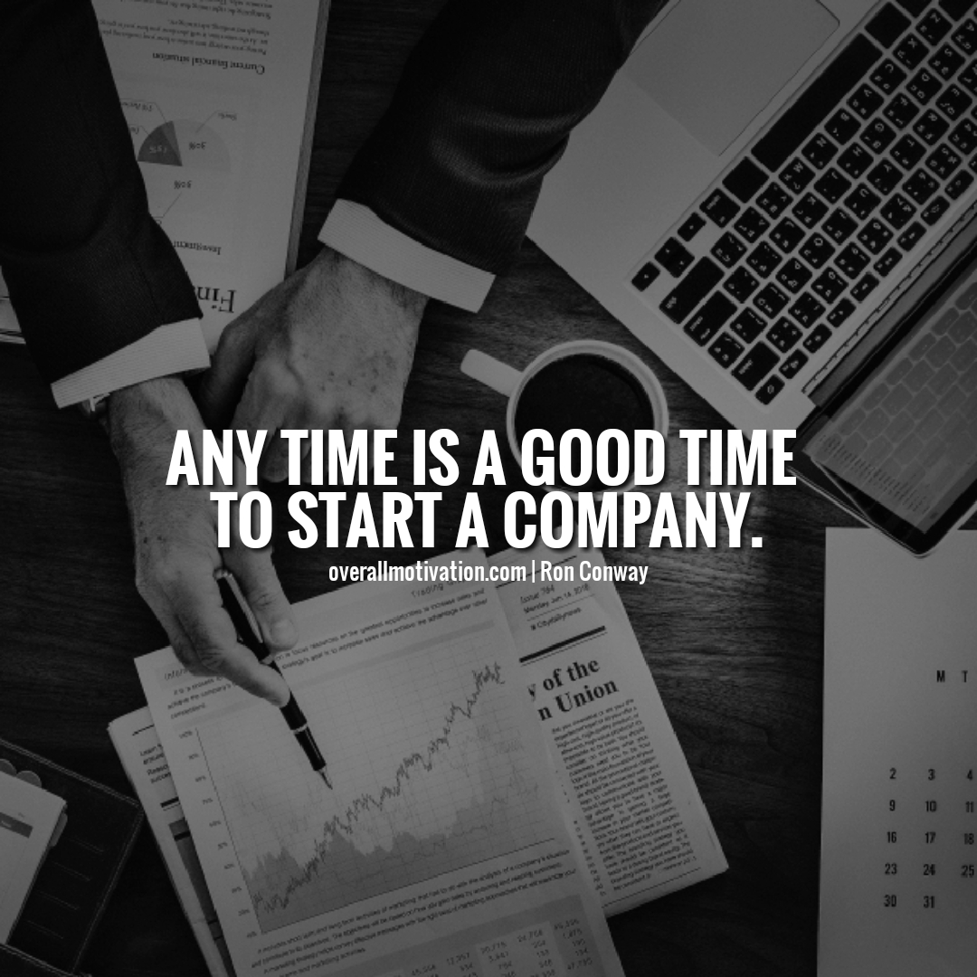 any time is a good time