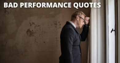 bad performance quotes featured