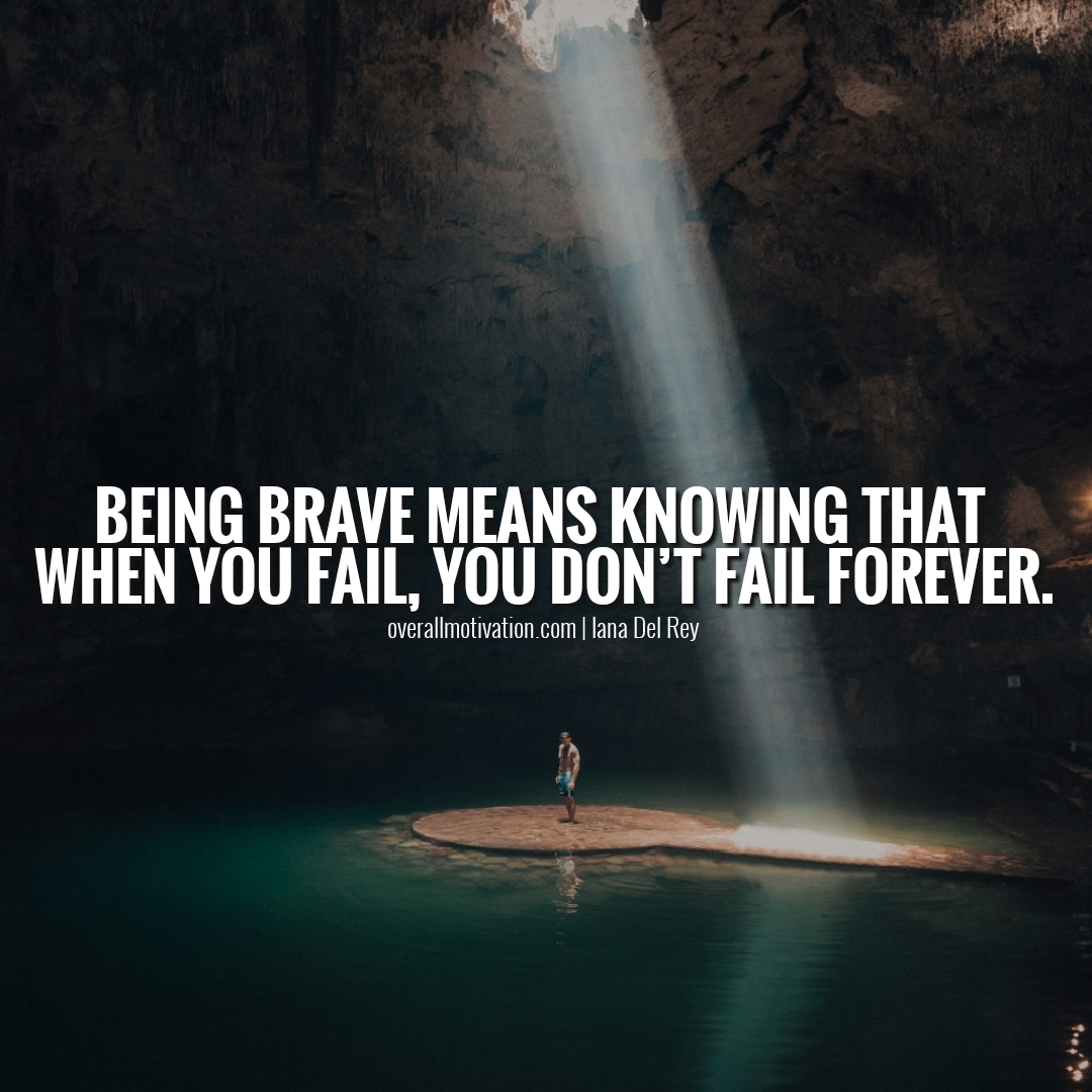 being brave means courage quotes