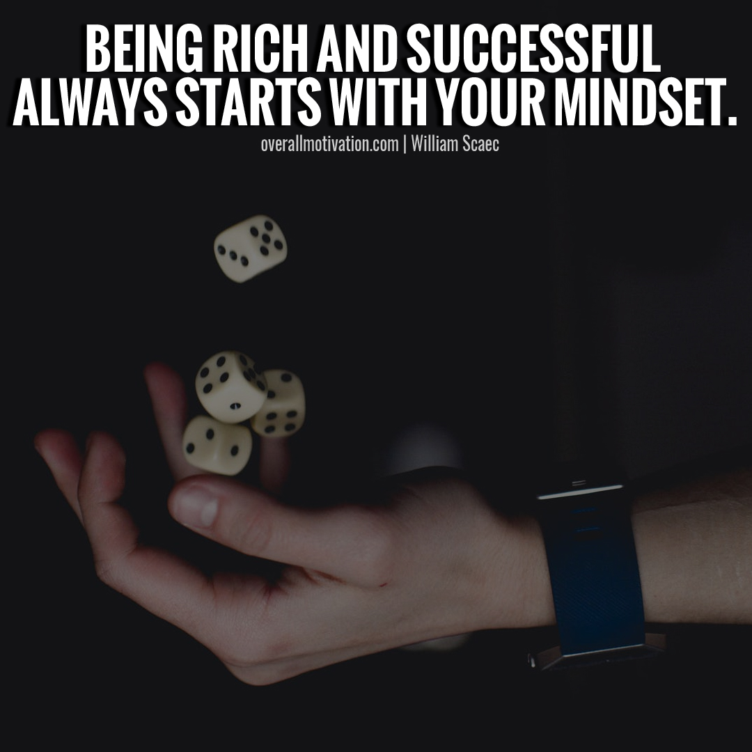 being rich mindset quotes