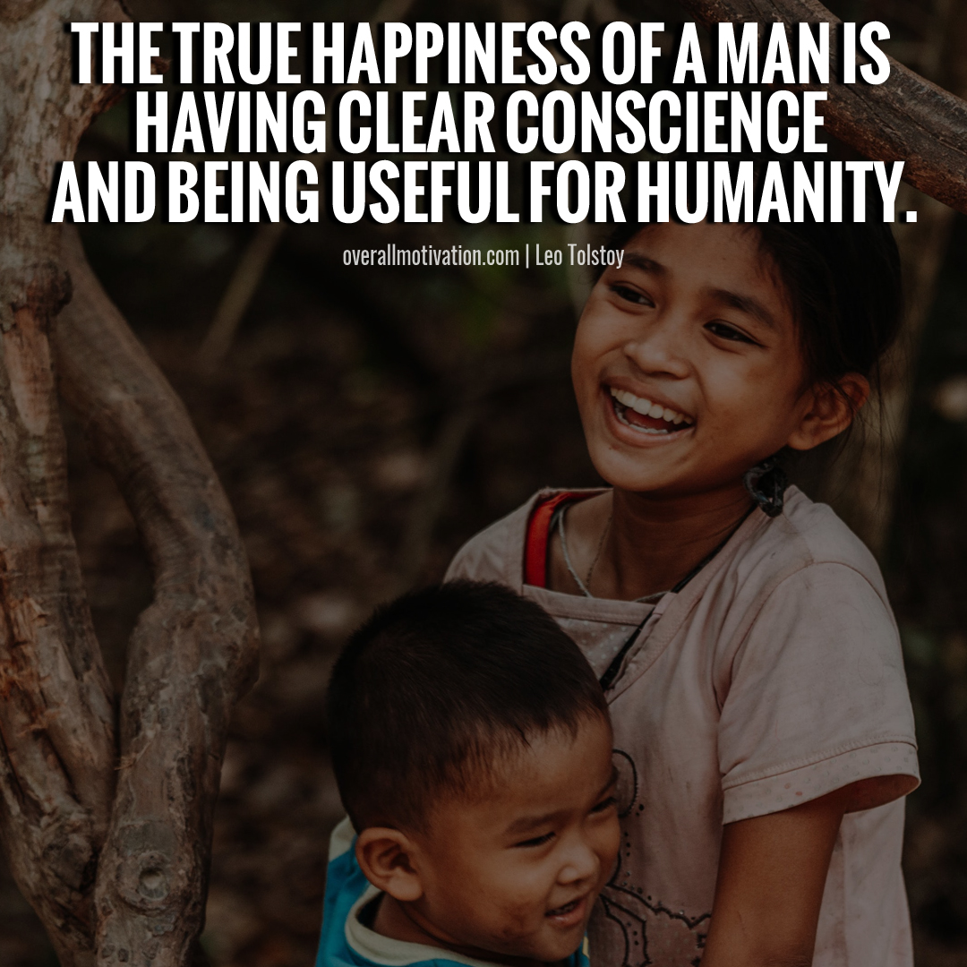 being useful Humanity Quotes
