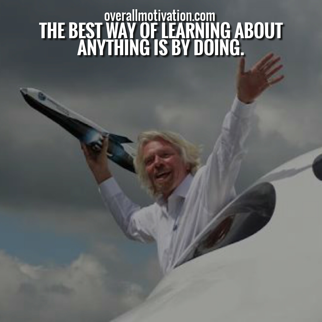 Beroemd Richard Branson Quotes On Employees, Work & Life | OverallMotivation &FL02