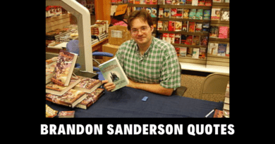 Motivational Brandon Sanderson Quotes