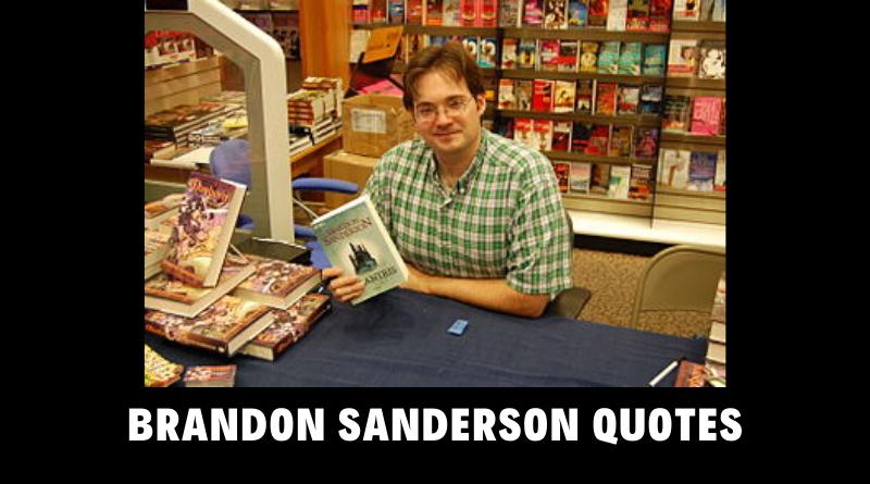 Motivational Brandon Sanderson Quotes