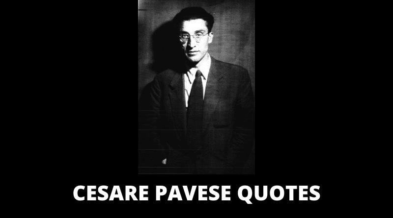 Inspirational Cesare Pavese Quotes