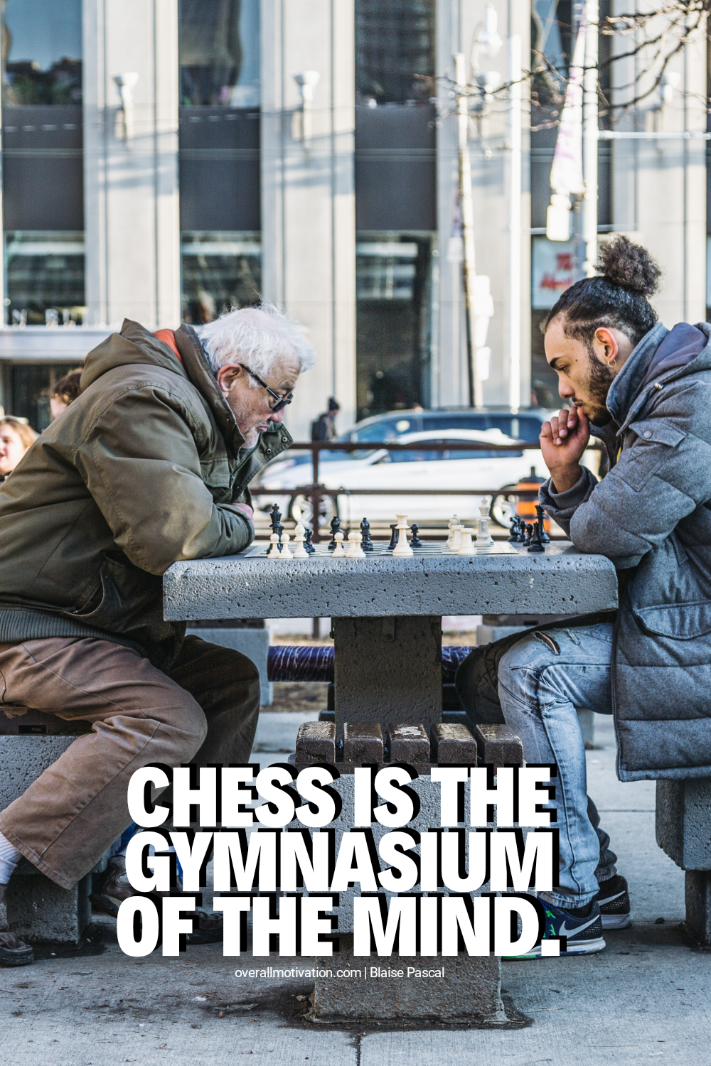 chess is gym