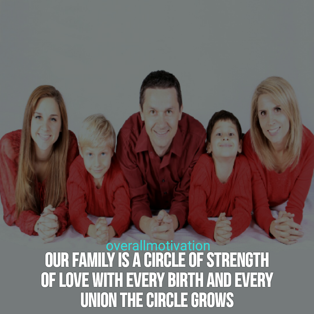 family quotes overallmotivation circle of stregth