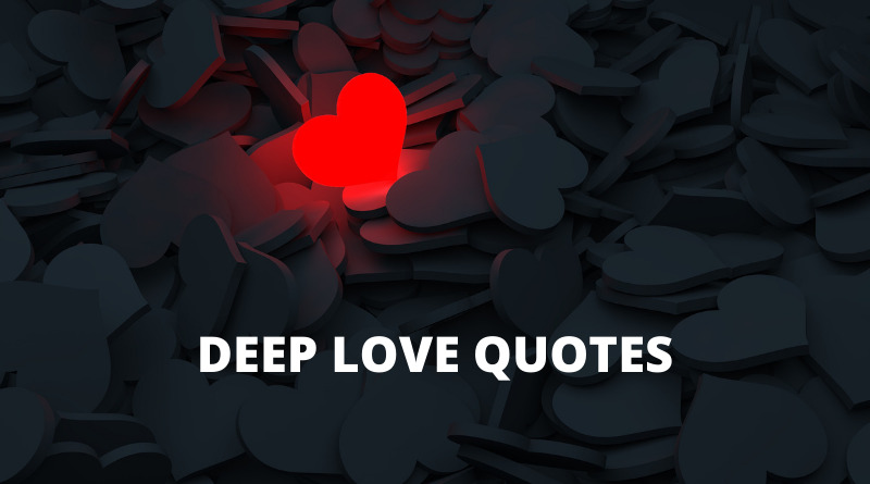 deep love quotes featured