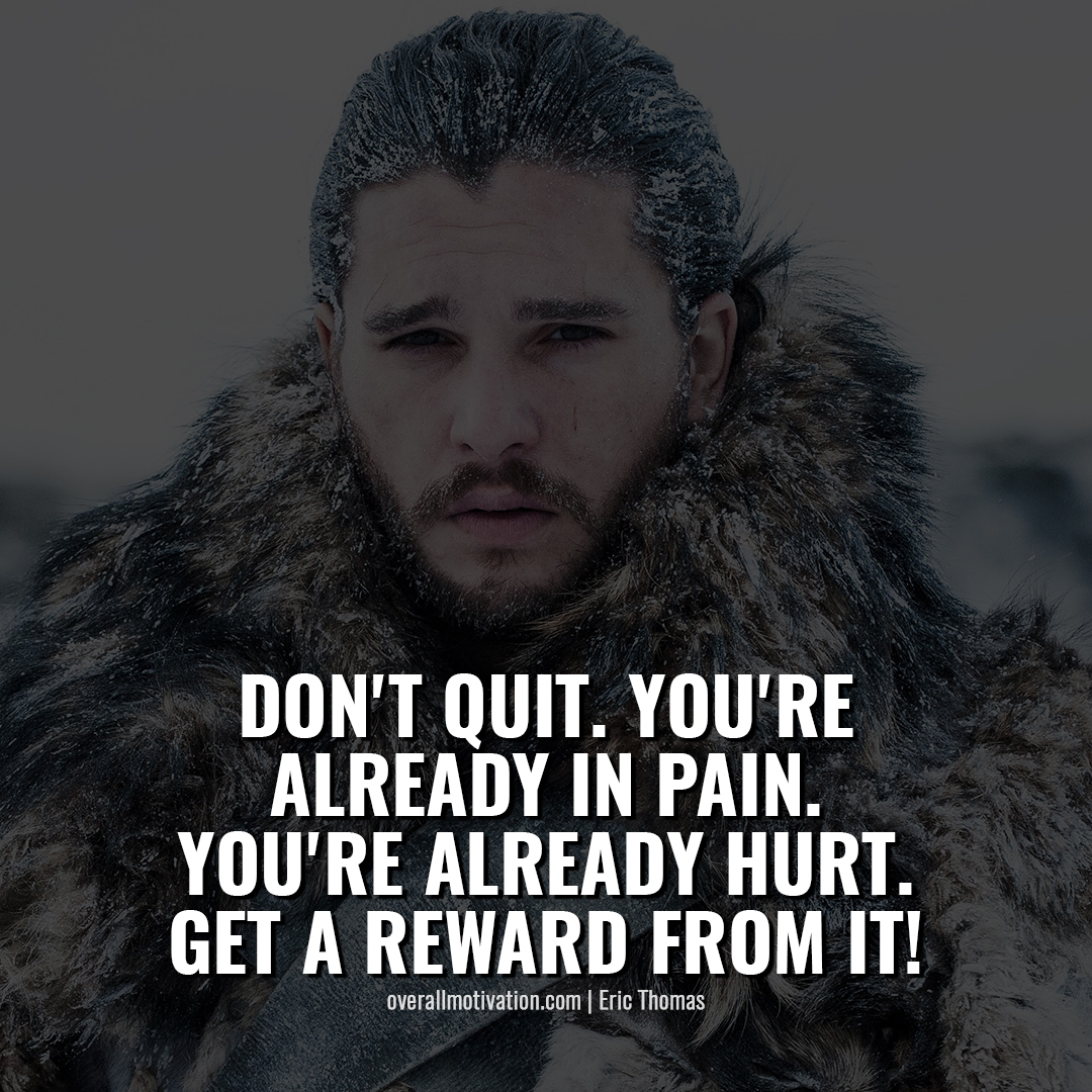 dont quit wake up no alarm clock Bodybuilding Motivational Quotes