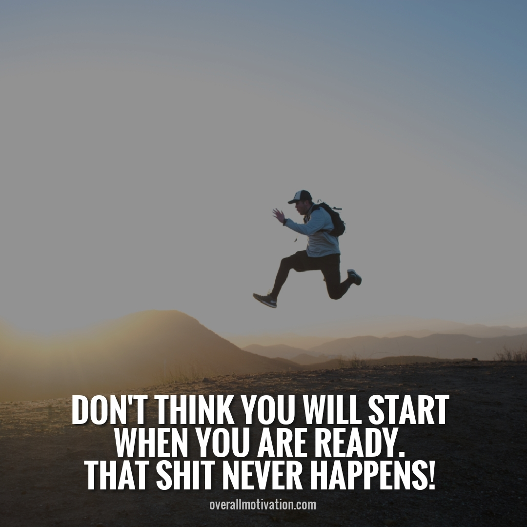 dont think you will start