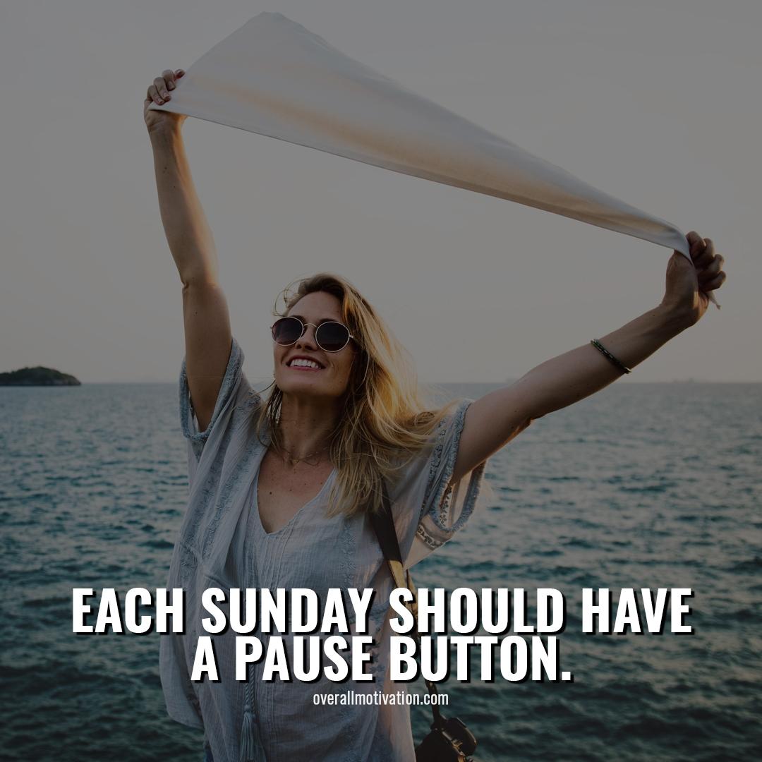 each sunday