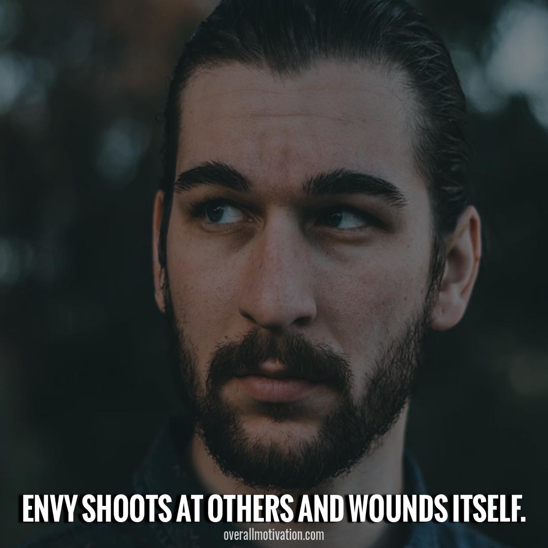 envy shoots itself