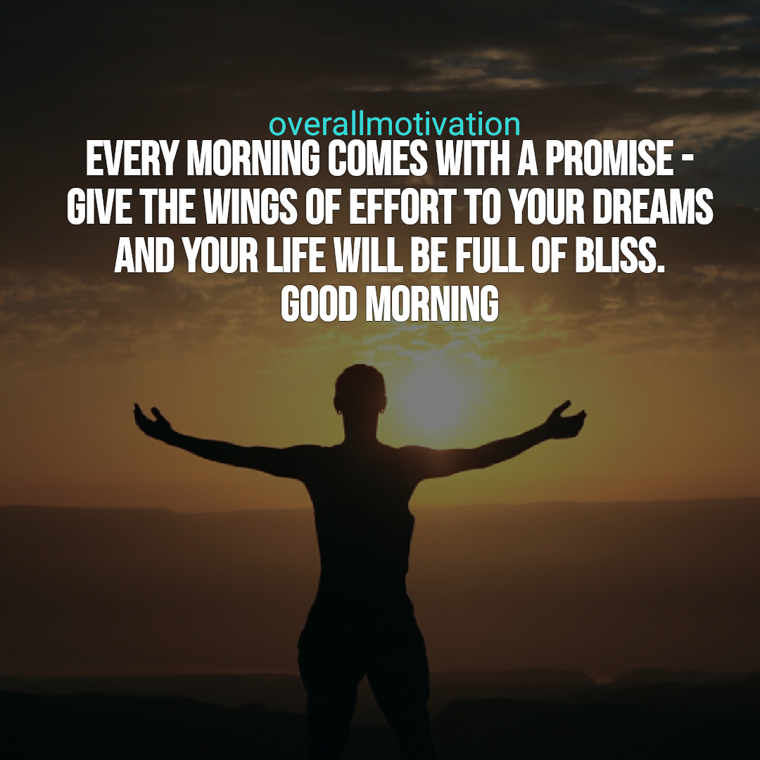 Morning Quote | Best Good Morning Quotes For An Inspirational Day